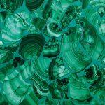 Malachite posa mosaico